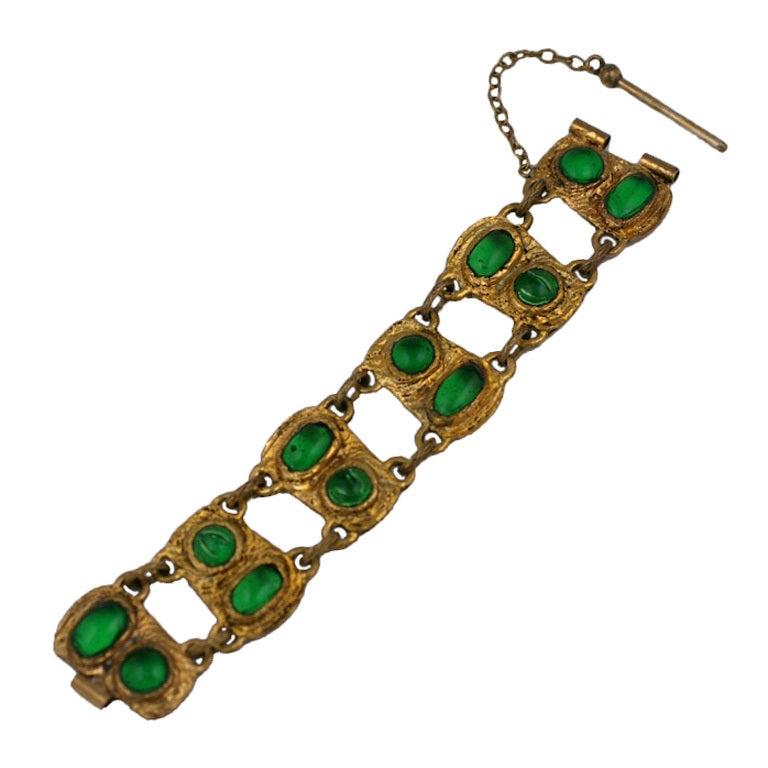 Chanel Baroque Link Bracelet, Workshop Goossens For Sale