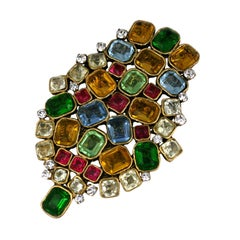 Rare Oversized Chanel Jewelled Crest*