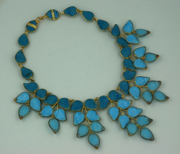 Important Moghul Pate de Verre Collar, Chanel 4