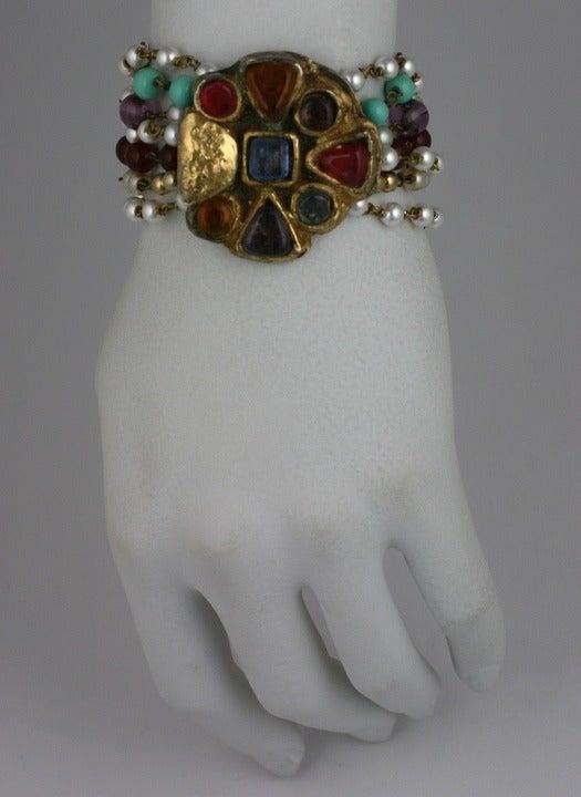 Chanel Byzantine Clasp Bracelet, Maison Goossens For Sale 1