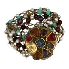 Chanel Byzantine Clasp Bracelet, Maison Goossens