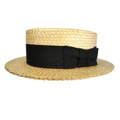 Stetson Men's Boater Hat