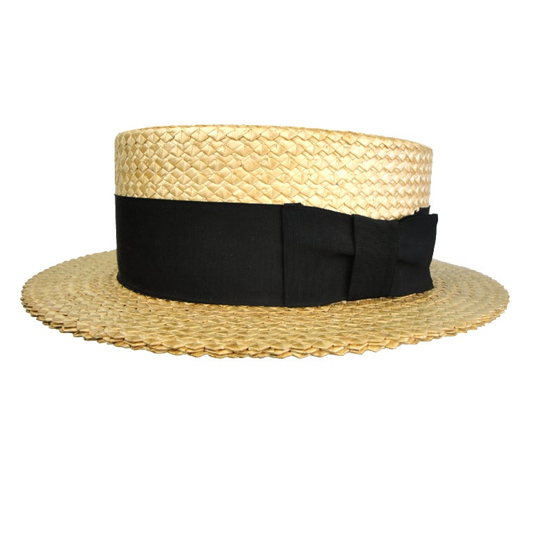 Stetson Men's Boater Hat 1