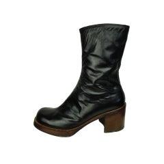 1970's Nunn Bush Men's Platform Boots