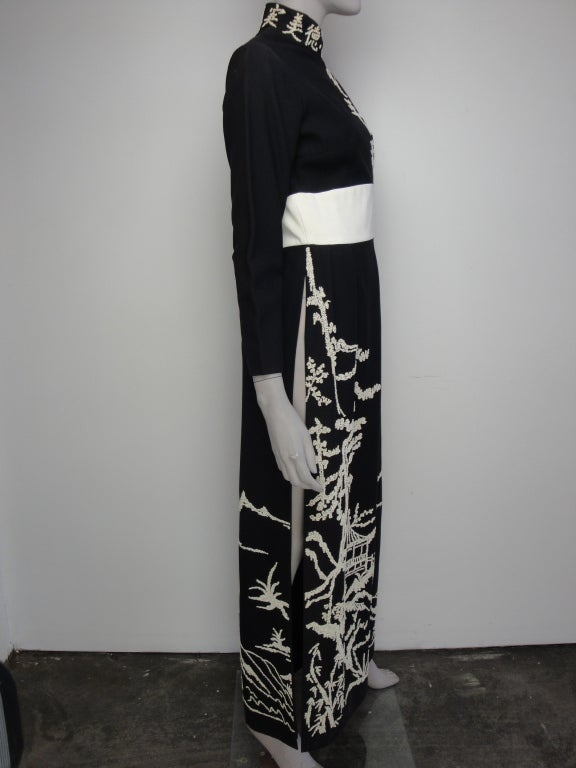 1970's Beaded Dress image 2
