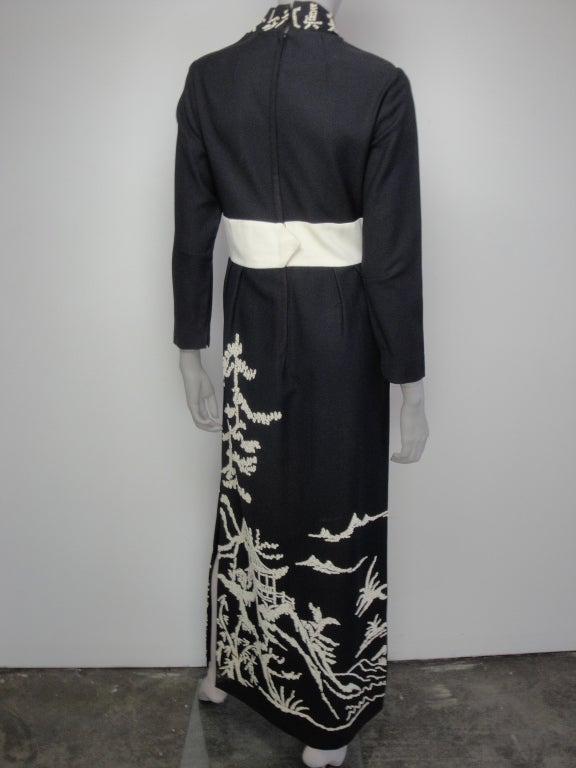 1970's Beaded Dress image 3