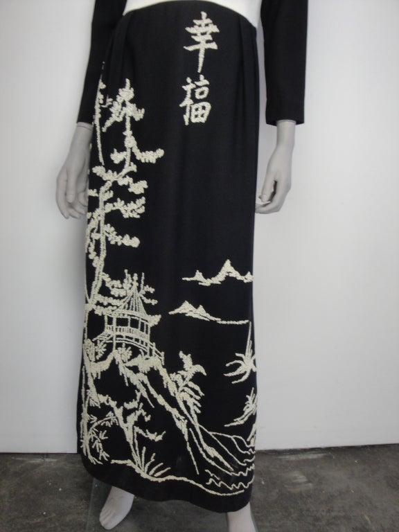 1970's Beaded Dress image 5