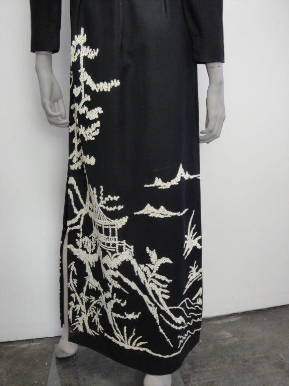 1970's Beaded Dress image 7