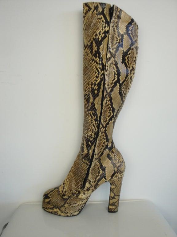 1970's Python Platform Boots 2