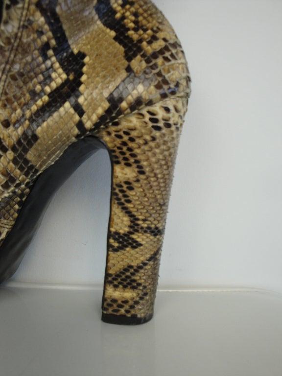 1970's Python Platform Boots 4