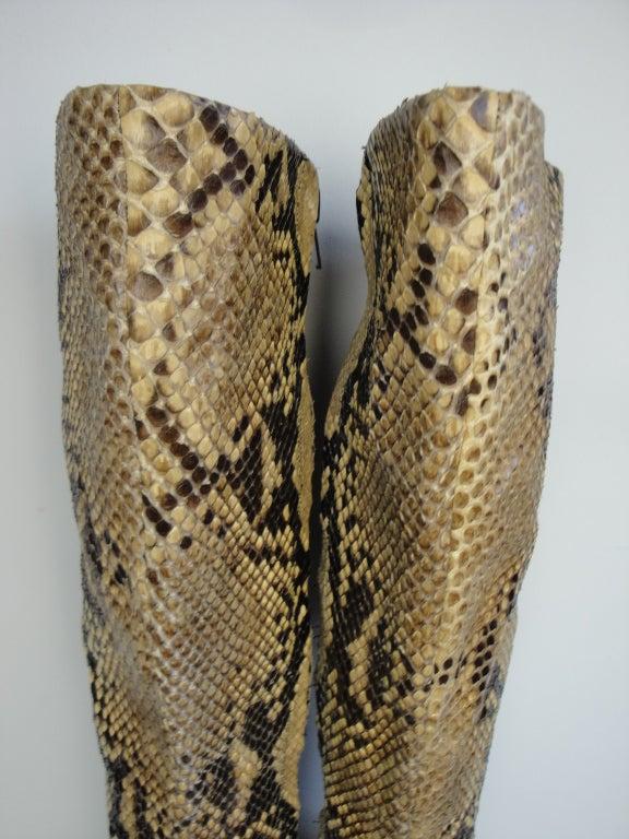 1970's Python Platform Boots 7