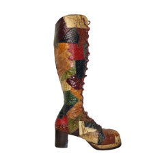 1970's Platform Boots