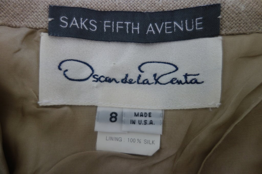 Oscar De la Renta Circa 1990s For Sale 3