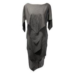 Bonavitacola Vintage Lack Linen Bais-Tier Dress