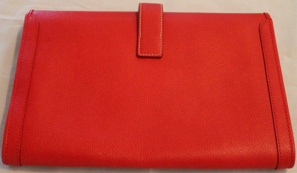 cheap birkin bags - hermes red clutch