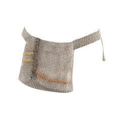 Chanel Silver chain Belt/Handbag