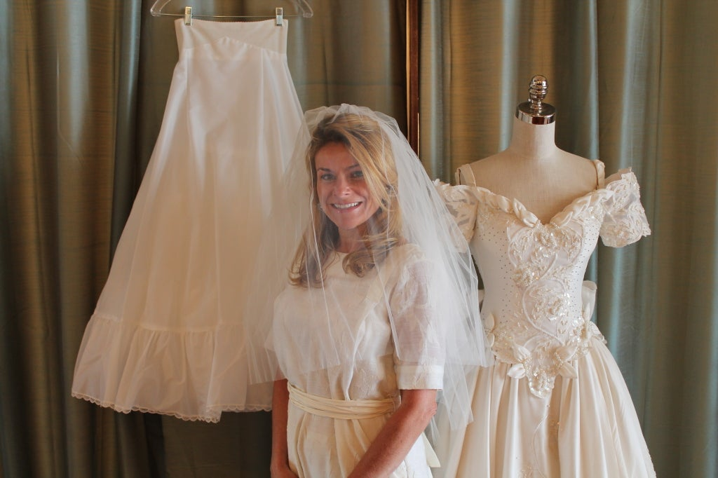 Unique Eva Haynal Forsyth 1989 Wedding Dress 10