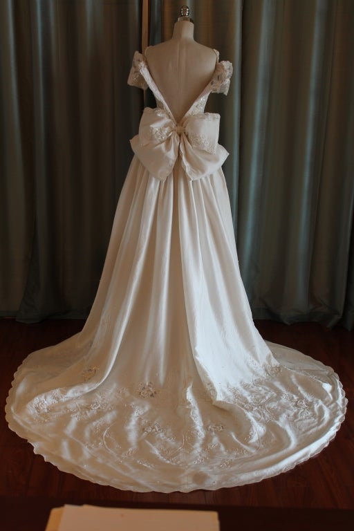 Unique Eva Haynal Forsyth 1989 Wedding Dress 5
