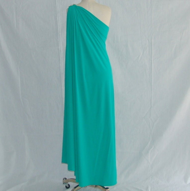 Vintage Bill Blass gown 3