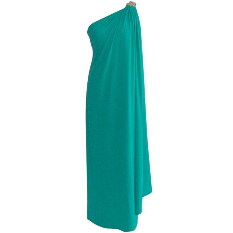 Vintage Bill Blass gown 1