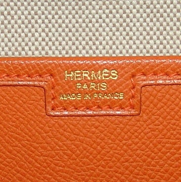 Hermes Orange Jige PM Clutch - 2006 5