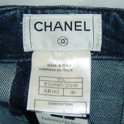 Chanel Denim Skirt 4