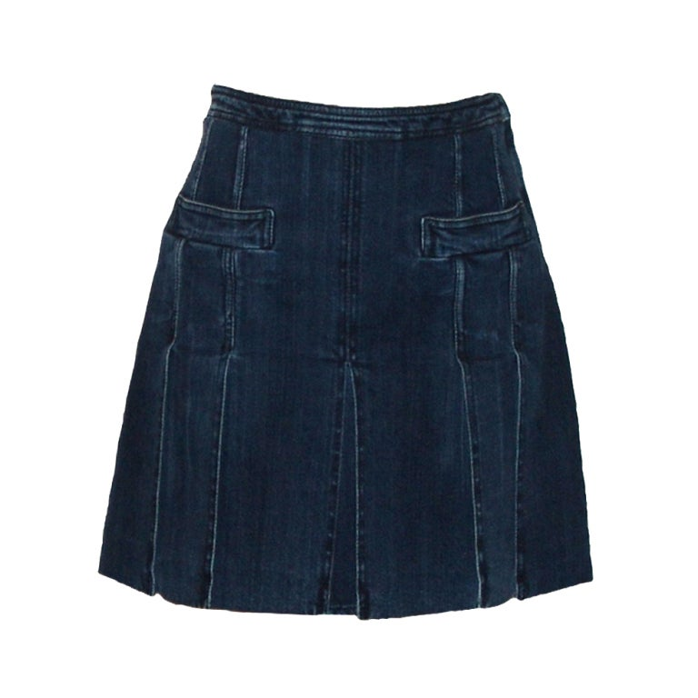 Chanel Denim Skirt 1