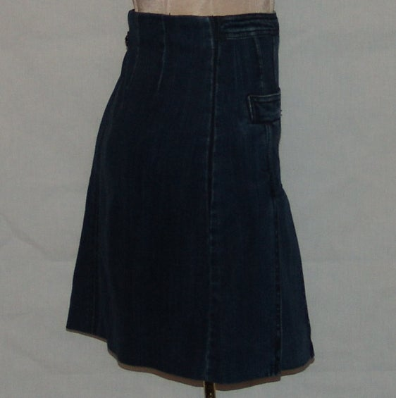 Chanel Denim Skirt 2