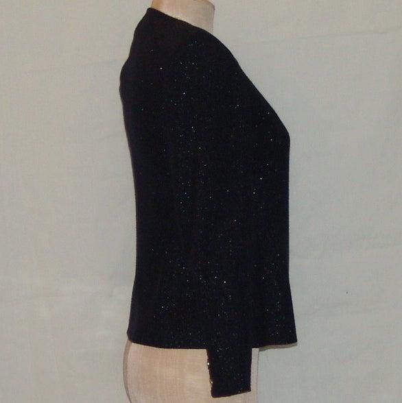 Chanel Black Shimmer Jacket 2