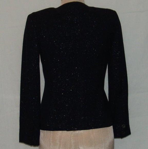 Chanel Black Shimmer Jacket 3