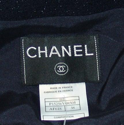 Chanel Black Shimmer Jacket 4