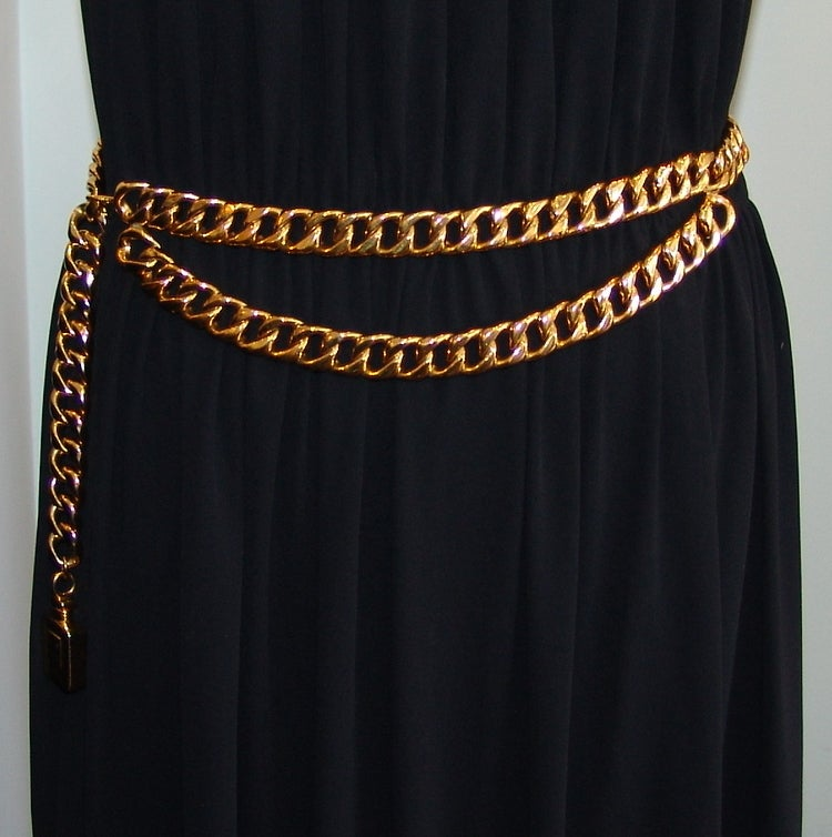 Chanel Gold Link Belt image 2