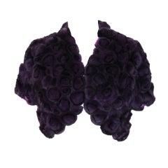 Purple Fur Bolero
