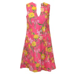 Vintage Lilly Pulitzer Floral Day Dress
