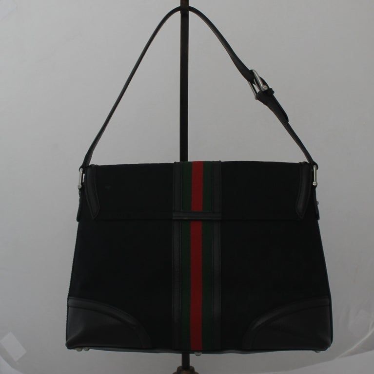 113059014985 Black Gucci Bag Red Green Stripe | Stanford Center for Opportunity ...