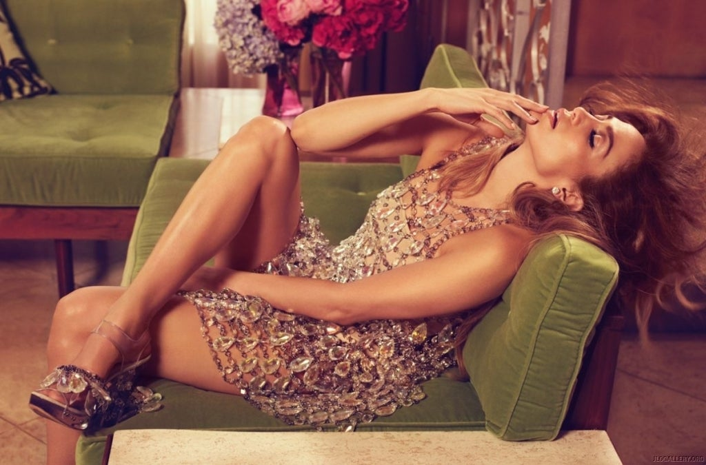NEW HANDMADE CHAN LUU CRYSTAL DRESS   If you're looking for that incredible CHAN LUU dress that Jennifer Lopez wore for Italian Vogue and in her latest video
