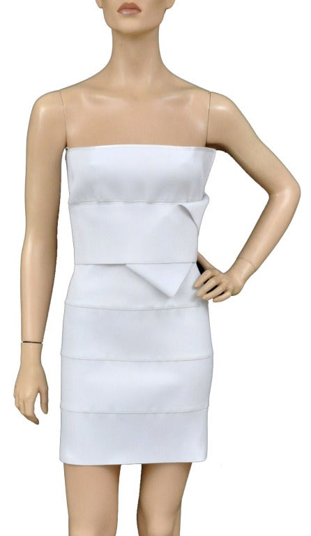 S/S 2001 TOM FORD for YSL WHITE BANDAGE DRESS 2
