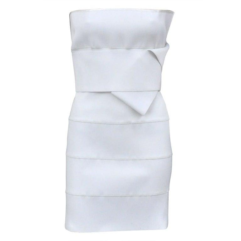 Tom Ford for YSL White Bandage Dress, Spring/Summer 2001