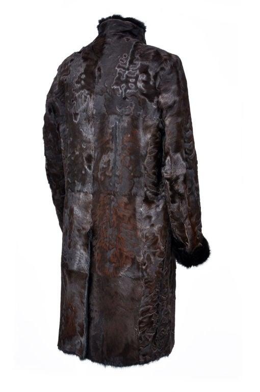 Tom Ford For Gucci Men S Persian Lamb And Mink Fur Coat At