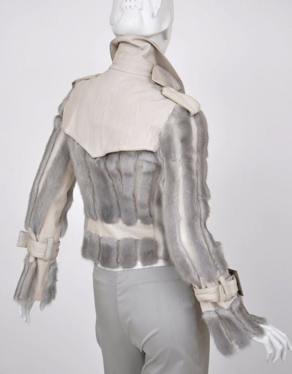 Christian Dior mink fur and lambskin jacket image 6