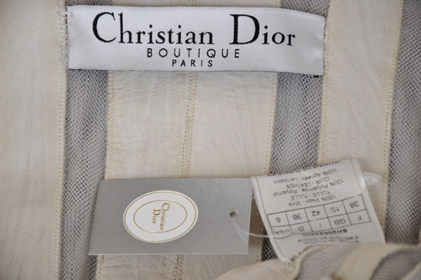 Christian Dior mink fur and lambskin jacket image 9