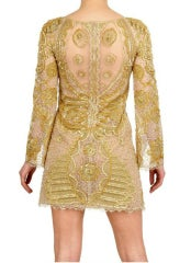Celeb's Fave Emilio Pucci Sequin Silk Tulle Dress with Scull thumbnail 3
