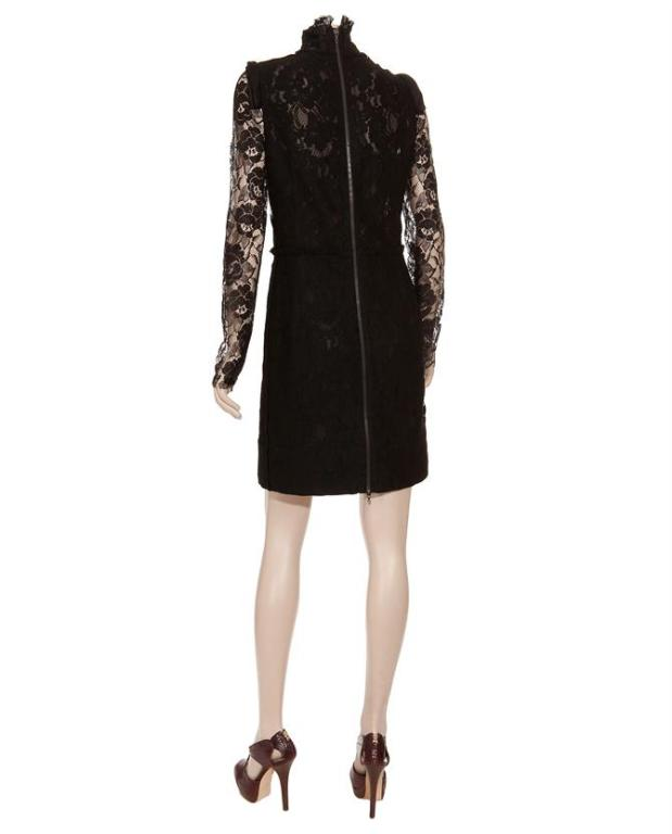 Lanvin Black Lace Dress Katie Holmes wore for Vogue cover 3
