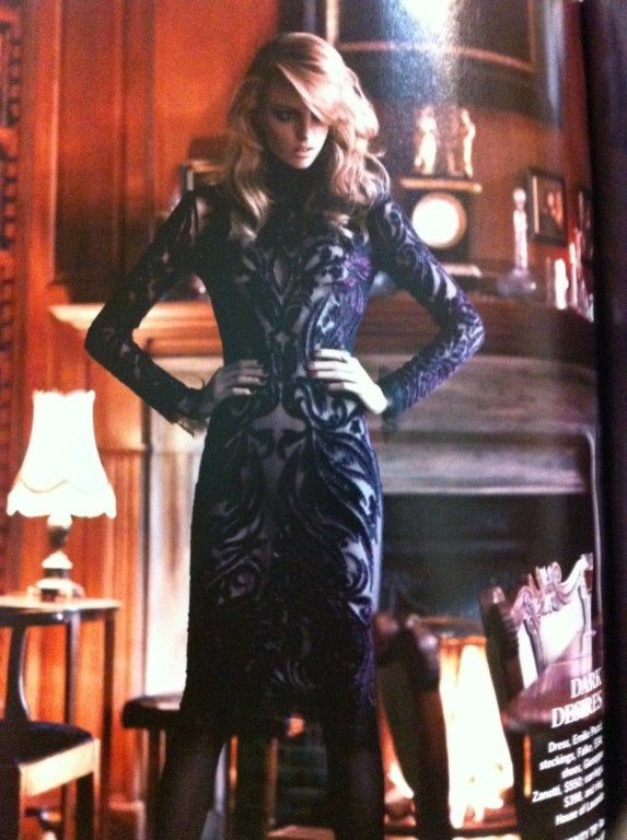 Emilio Pucci Bordeaux Velvet-Embroidered Dress In New Condition For Sale In Montgomery, TX