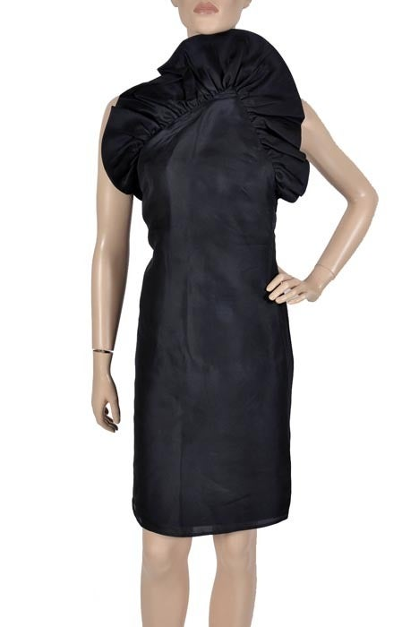 Tom Ford for Gucci Black Silk Dress, F / W 2000 In Excellent Condition For Sale In Montgomery, TX