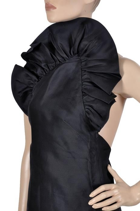 Women's Tom Ford for Gucci Black Silk Dress, F / W 2000 For Sale