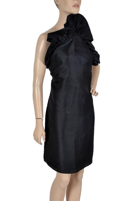 Tom Ford for Gucci Black Silk Dress, F / W 2000 For Sale 2
