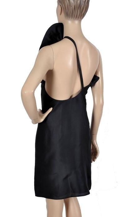 Tom Ford for Gucci Black Silk Dress, F / W 2000 For Sale 3