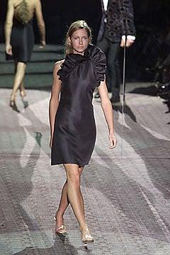 Tom Ford for Gucci Black Silk Dress, F / W 2000 For Sale 4