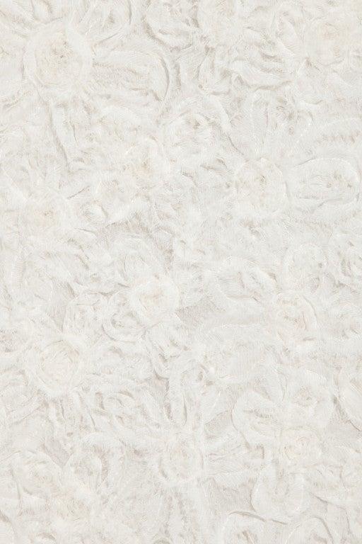 LANVIN Silk rosette-detailed Bustier Dress 5